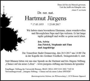 Traueranzeige-Hartmut-Jürgens